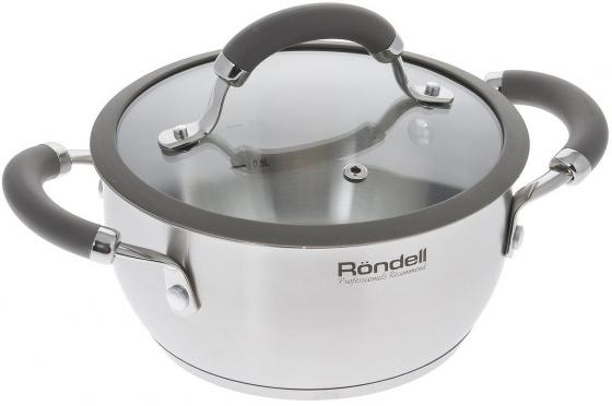 Кастрюля Rondell RDS-753 18 см 2 л нержавеющая сталь кастрюля rondell rds 740 2 4 л 18 см