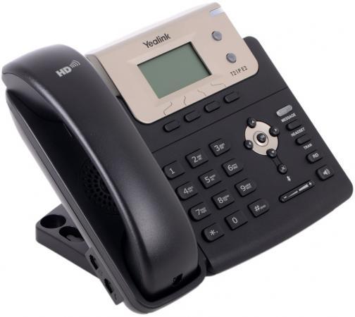 Телефон IP Yealink SIP-T21P E2 2 SIP-аккаунта 2x10/100Mbps 2.3 LCD PoE BLF ip телефон yealink sip t21p e2