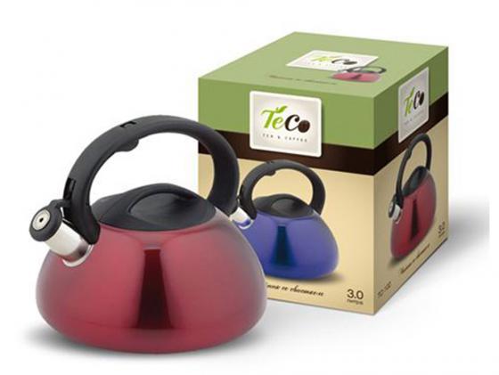 Чайник Teco TC-102 цвет в ассортименте 3 л нержавеющая сталь