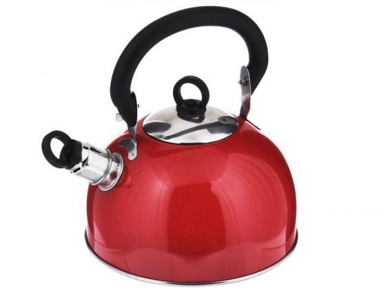 Чайник Bekker BK-S319M 2.5 л нержавеющая сталь красный чайник kitchenaid kten20sbob чёрный 1 9 л нержавеющая сталь