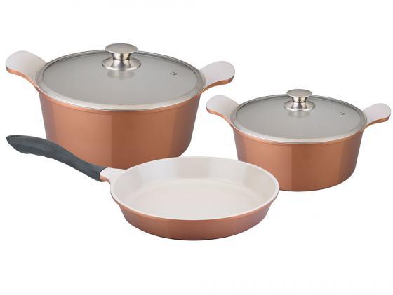 Набор посуды Winner WR-1301 5 предметов набор кастрюль winner wr 1103 6 предметов нержавеющая сталь