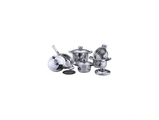 Набор посуды Bekker DeLuxe BK-2866 10 предметов набор посуды bekker jumbo вк 962