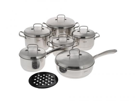 Набор посуды Bekker DeLuxe BK-2862 13 предметов набор посуды bekker deluxe из 10 ти предметов вк 2866