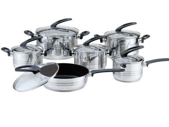 Набор посуды Bekker Premium BK-2710 12 предметов bekker чайный сервиз bekker bk 7145 15 предметов ihygxrd