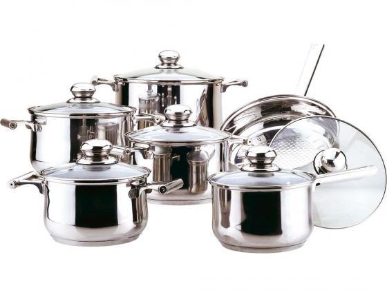 Набор посуды Bekker Jumbo BK-271 12 предметов набор посуды bekker bk 2862