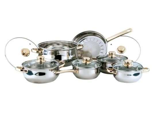 Набор посуды Bekker Classic BK-202 12 предметов bekker чайный сервиз bekker bk 7145 15 предметов ihygxrd