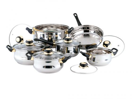 Набор посуды Bekker Classik BK-201 12 предметов набор посуды bekker premium из 12 ти предметов bk 2710