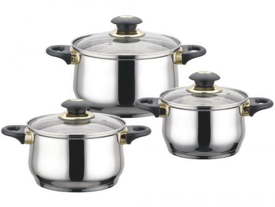 Набор кастрюль Bekker Jumbo BK-962 6 предметов набор посуды bekker jumbo вк 962