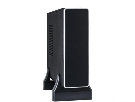 Корпус mini-ITX Exegate MI-212 300 Вт чёрный корпус microatx exegate mi 205l 300 вт чёрный серебристый ex249478rus
