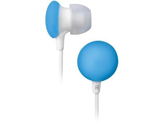 Наушники BBK EP-1170S бело-голубой цена и фото