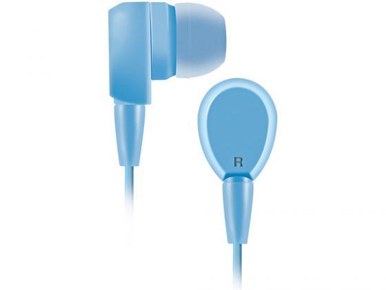 Наушники BBK EP-1430S голубой наушники dialog ep f55 серый