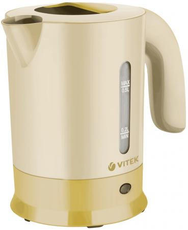 Чайник Vitek VT-7023 Y 650 Вт 0.5 л пластик жёлтый
