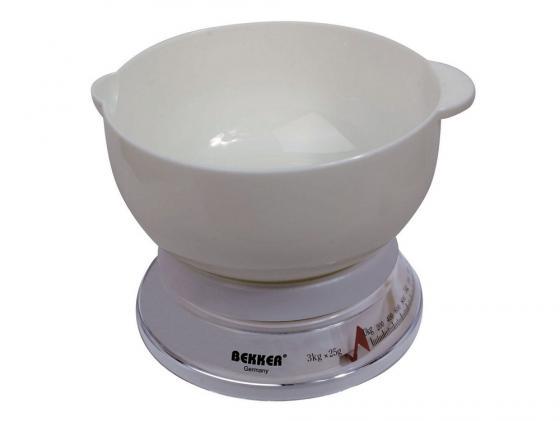 Весы кухонные Bekker BK-23 механические весы кухонные bekker bk 1