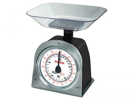 Весы кухонные Bekker BK-2 механические весы кухонные bekker bk 9100 белый