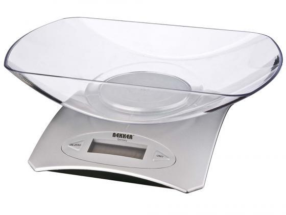 Весы кухонные Bekker BK-9103 электронные серебристый весы кухонные bekker bk 9100 белый