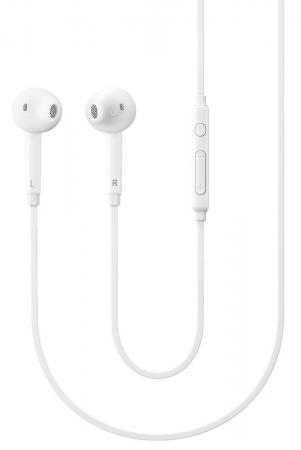 Гарнитура проводная Samsung EO-EG920L 3.5мм белый гарнитура проводная samsung eo eg920l in ear fit white