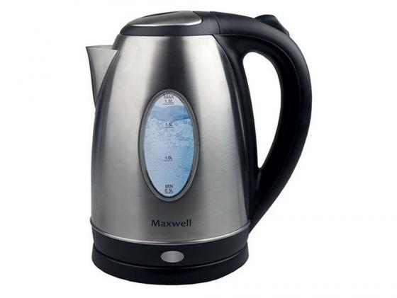Чайник Maxwell MW-1073(ST) 2200 Вт 1.7 л металл серебристый
