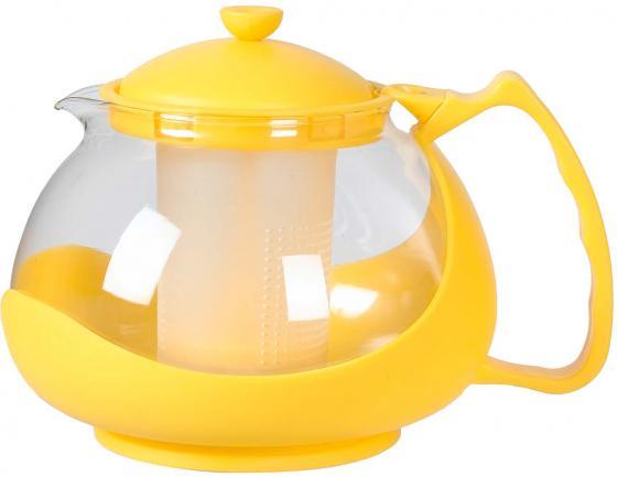 Чайник заварочный Bekker BK-310 1.25 л пластик/стекло разноцветный чайник заварочный bekker 308 вк 1 25 л пластик стекло фиолетовый