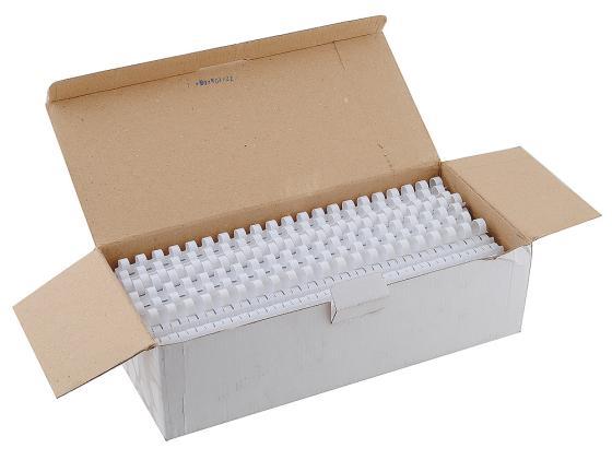 Пружина пластиковая Fellowes FS-53462 12.5мм белый 100шт fellowes 3213601 p35c