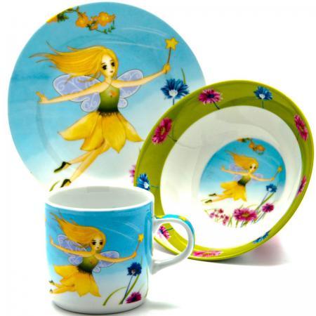 Набор посуды Loraine Фея LR-24026 3 предмета детский loraine