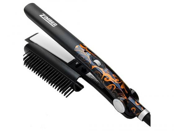 Выпрямитель для волос Zimber ZM 10905 45Вт чёрный  zimber zm 10905 выпрямитель для волос