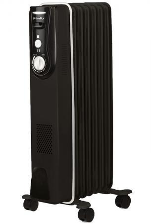 Масляный радиатор BALLU BOH/MD-07BBN 1500 Вт чёрный масляный радиатор ballu boh md 07bbn 1500 вт чёрный