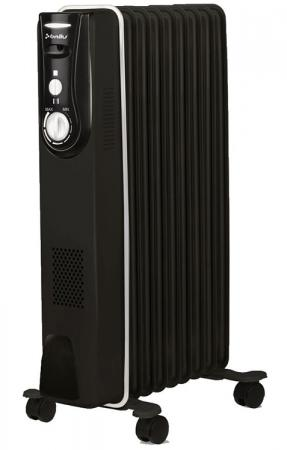 Масляный радиатор BALLU BOH/MD-09BBN 2000 Вт чёрный все цены