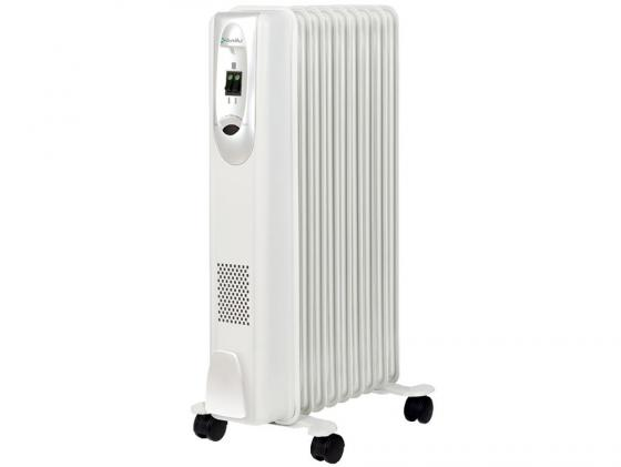 Масляный радиатор BALLU Comfort BOH/CM-09WDN 2000 Вт белый масляный радиатор ballu comfort boh cm 07wd
