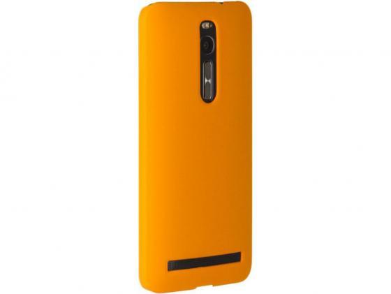 Чехол-накладка Pulsar CLIPCASE PC Soft-Touch для Asus Zenfone 2 ZE551ML 5.5 inch (оранжевая) чехол накладка pulsar clipcase pc soft touch для asus zenfone 2 ze551ml 5 5 inch оранжевая