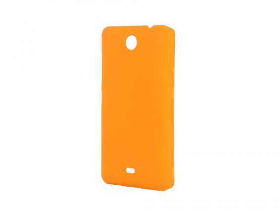 Чехол-накладка Pulsar CLIPCASE PC Soft-Touch для Microsoft Lumia 430 (оранжевая) beelink s1 mini compact pc window 10 4g 64g support microsoft cortana