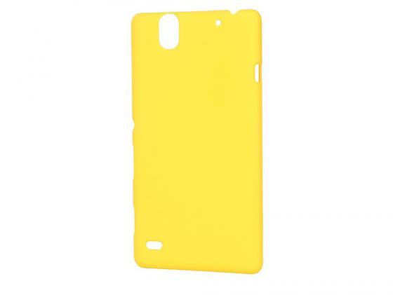 все цены на  Чехолы-накладка Pulsar CLIPCASE PC Soft-Touch для Sony C4 (желтая)  онлайн