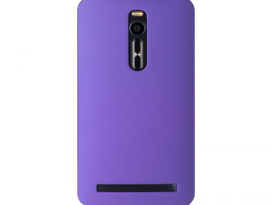 Чехол-флип PULSAR SHELLCASE для ASUS Zenfone 2 ZE500CL 5.0 inch (фиолетовый) чехол накладка pulsar clipcase pc soft touch для asus zenfone 2 ze500cl 5 0 inch фиолетовая