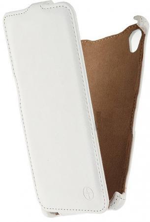 Чехол-флип PULSAR SHELLCASE для Sony Xperia M4 (белый) для sony m4 аква модный дизайн печать искусственная кожа мягкая чехол для sony xperia m4 аква с картой слотов бумажник и стенд