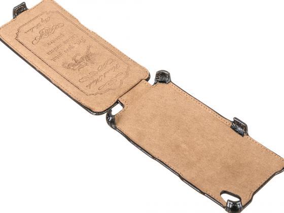 Чехол-флип PULSAR SHELLCASE для Sony Xperia M4 (черный) для sony m4 аква модный дизайн печать искусственная кожа мягкая чехол для sony xperia m4 аква с картой слотов бумажник и стенд