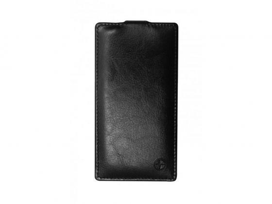 Чехол-флип PULSAR SHELLCASE для Sony Xperia Z3 compact (черный) PSC0341