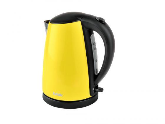 цена на Чайник BBK EK1705S 2200 Вт жёлтый чёрный 1.7 л металл