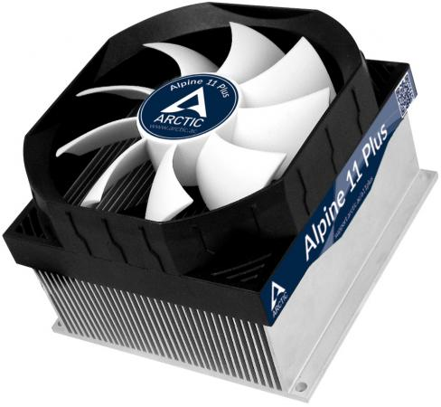 Кулер для процессора Arctic Cooling Alpine 11 Plus Socket S775 S1150 1155 S1156 UCACO-AP11301-BUA01 cooler for cpu arctic cooling freezer 33 tr white acfre00039a 2066 2011v3 am4