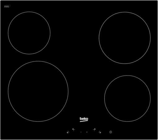 Варочная панель электрическая Beko HIC 64401 черный все цены