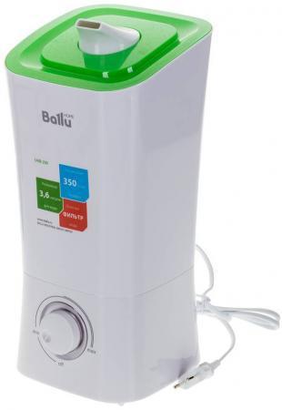 цена на Увлажнитель воздуха Ballu UHB-200 ультразвуковой механическое управление белый