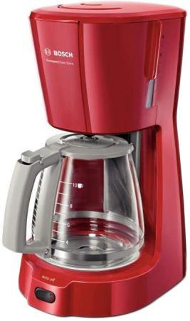 Кофеварка Bosch TKA 3A034 1100 Вт красный кофемашина bosch tka 3a031 3a034 красный