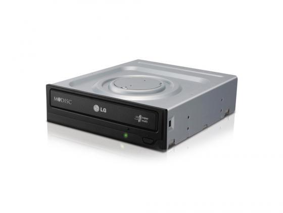 Привод для ПК DVD±RW LG GH24NSD SATA черный OEM