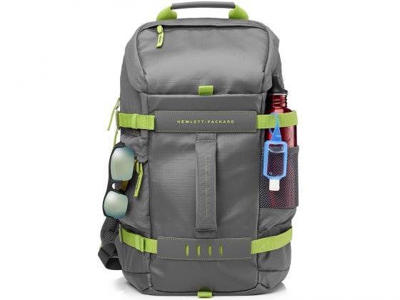 "Рюкзак для ноутбука 15.6"" HP L8J89AA Odyssey серо-зеленый цена"
