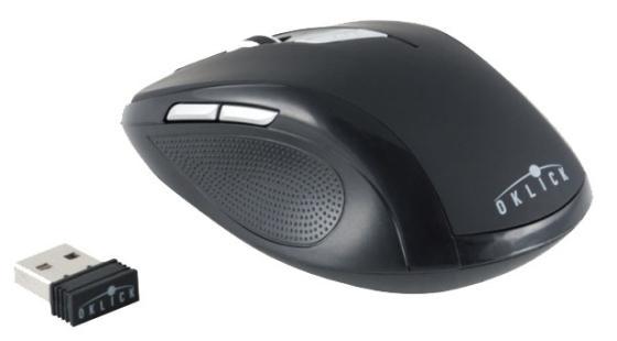 все цены на Мышь беспроводная Oklick 465MW чёрный USB онлайн