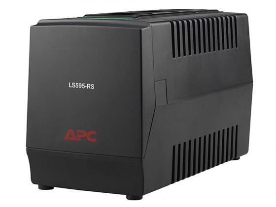 Стабилизатор напряжения APC Line-R LS595-RS 3 розетки 1 м черный стабилизатор напряжения apc line r ls1500 rs 3 розетки 1 м черный