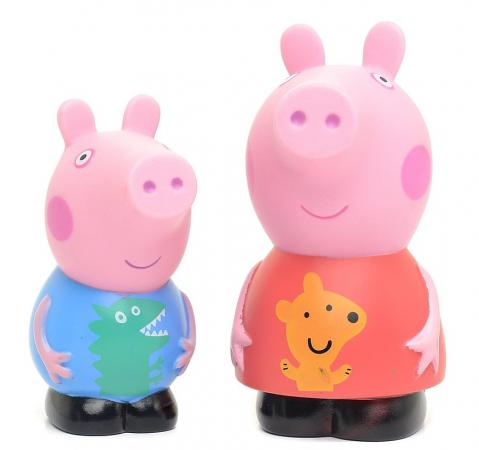 Игровой набор Peppa Pig Пеппа и Джордж 2 предмета 27132 peppa pig playing football