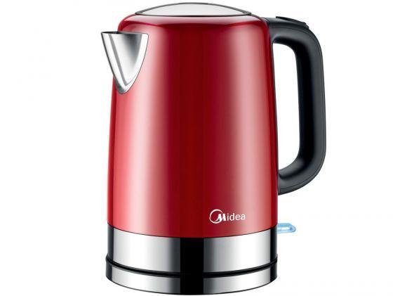 Чайник Midea MK-M317C2A-RD 2200 Вт 1.7 л нержавеющая сталь красный