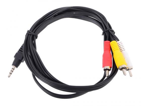 Фото - Кабель соединительный Telecom 3.5Jack (M)-3хRCA(M) TAV4545-1.5M кабель соединительный telecom 3 5jack m 3хrca m tav4545 2m