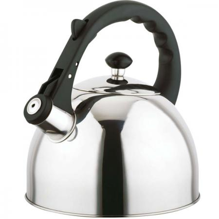 Чайник Bekker BK-S583 серебристый 3 л нержавеющая сталь чайник заварочный bekker 303 вк серебристый 0 9 л металл пластик