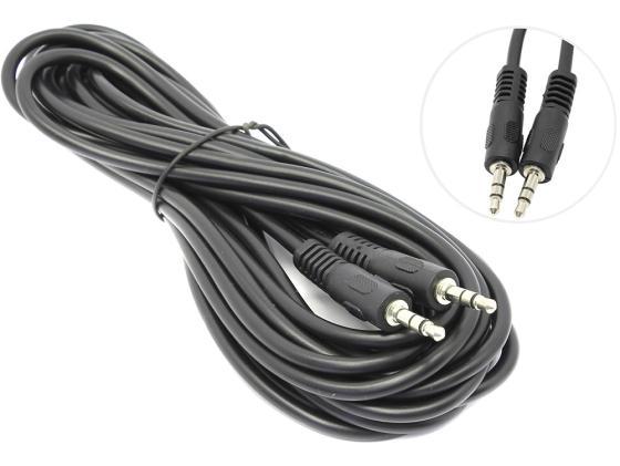 Кабель соединительный 5.0м 5bites Jack 3.5(m)-Jack 3.5(m) AC35J-050M кабель nym j 3х6 0 5м гост