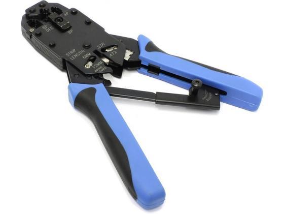Клещи для обжима 5bites LY-T2009R для 8P+6P+4P с фиксатором 5 08mm connector nylon 2edg 5 08 2p 3p 4p 5p 6p 7p 8p 5 08mm straight pin looper terminals connector plug socket set for pcb